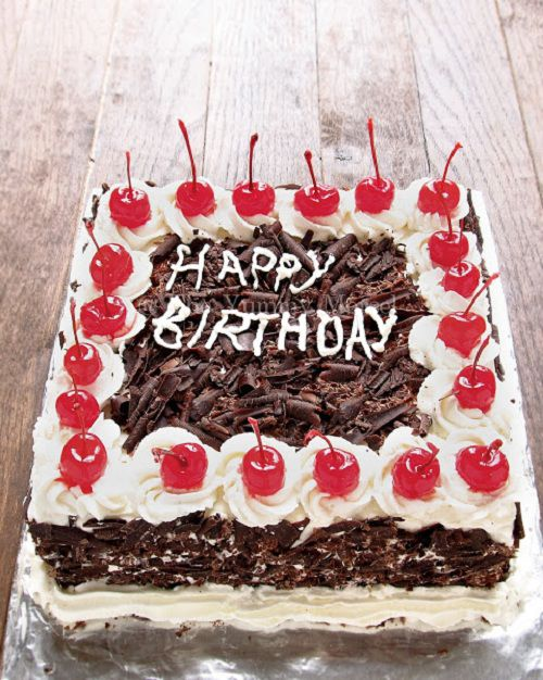 Cake Black Forest Birthday : Birthday cake   mon qua sinh nh?t kh?p the gi?i