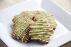 Bánh quy trà xanh cho dịp Tết