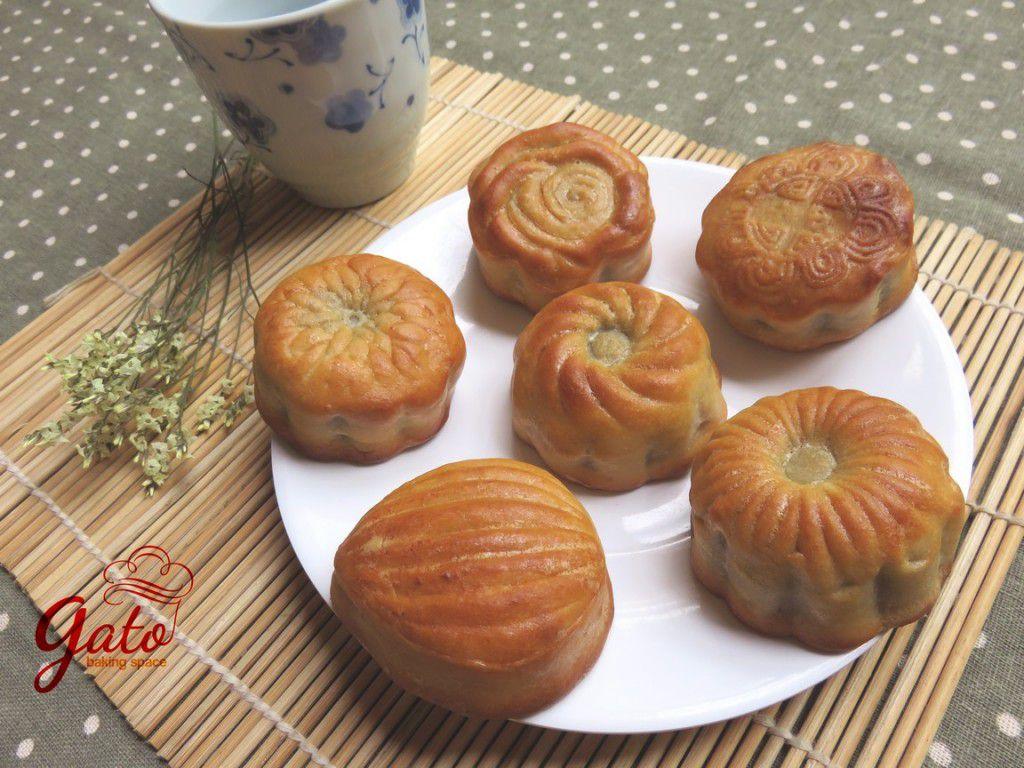 Set 6 bánh nướng đậm đà hương vị bên tách trà tươi