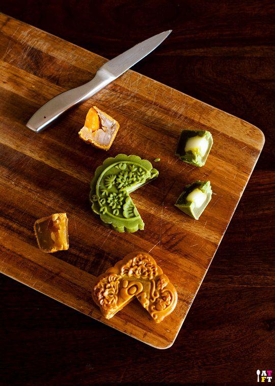 bánh trung thu tự làm tại nhà với đủ hương vị