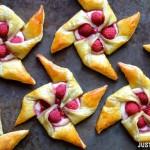 Cách làm bánh Pastry mứt hoa quả thơm ngon.