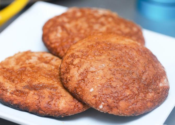 Cookies gừng thơm ngon đã hoàn thành