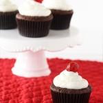 Cupcake nhân cheesecake sơ – ri