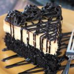 Bánh gato sôcôla bơ đậu phông
