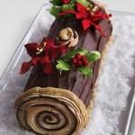 Bánh khúc cây cho giáng sinh ngọt ngào