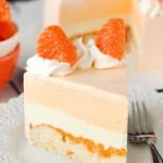 Bánh gato vị cam ngọt ngào thơm mát