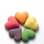 Bánh bơ giòn hình trái tim cho valentine ngọt ngào