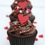 Cupcake sôcôla ngọt ngào cho ngày Valentine