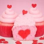 Cupcake trái tim – Món quà gửi gắm yêu thương