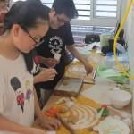Lớp học làm bánh trung thu 2016